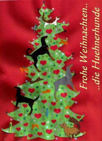 Christmas Huehnerhunde